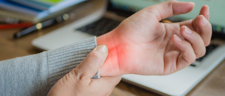 σύνδρομο καρπιαίου σωλήνα πόνος χέρι
